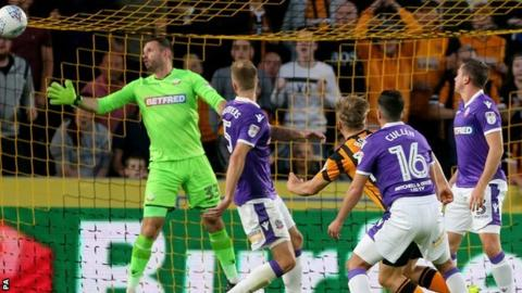 Jarrod Bowen scoring his first against Bolton