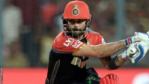 Virat Kohli playing in IPL