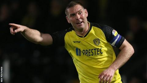 Jake Buxton is to replace Nigel Clough as Burton manager