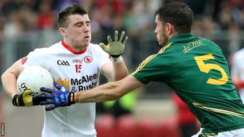 Tyrone defeated Meath by two points when the sides met in the All-Ireland qualifiers in 2015