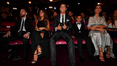 Lionel Messi and Cristiano Roanldo
