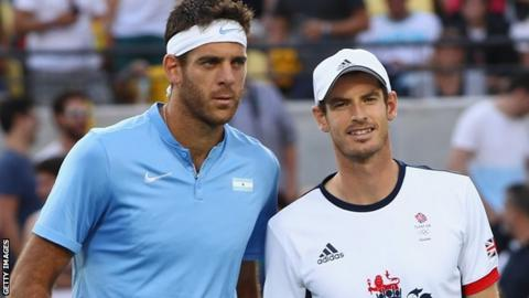 Andy Murray beat Juan Martin del Potro in the 2016 Olympics final