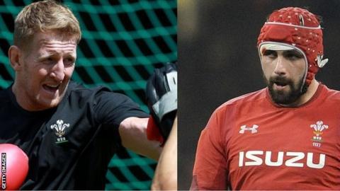 Bradley Davies and Cory Hill
