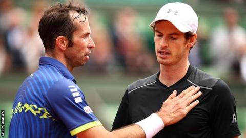 Radek Stepanek and Andy Murray