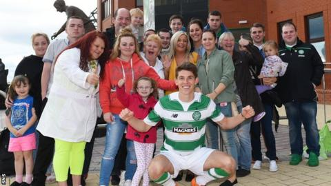 Ryan Christie signed on transfer deadline day for Celtic from Inverness Caledonian Thistle