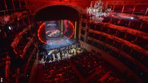 in_pictures Ferrari launched their 2020 car in the Teatro Romolo Valli
