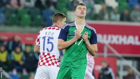 McNair injured his cruciate ligament just four days after playing in Northern Ireland's friendly against Croatia at Windsor Park