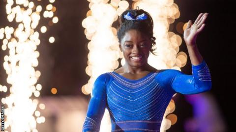 Simone Biles at Superstars of Gymnastics