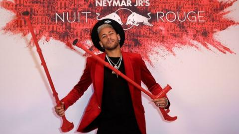 Neymar Tearful Brazil And Psg Player Wishes For New Metatarsal At