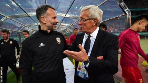 Ryan Giggs and Marcelo Lippi