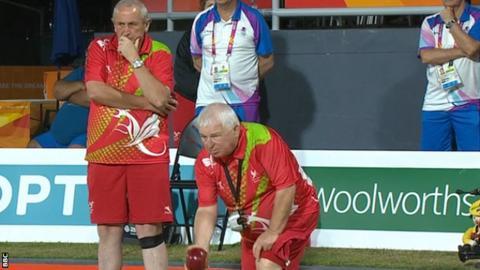 Wales skip Gilbert Miles