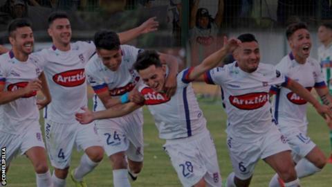 CD Melipilla celebrate