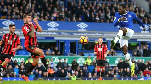 Romelu Lukaku has scored 17 goals for Everton this season