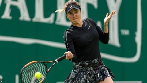 Nature Valley Classic: Margarita Gasparyan beats Elina Svitolina in first round