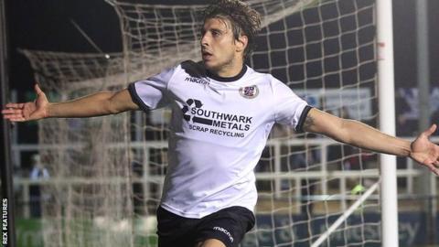 Bromley forward Adam Mekki