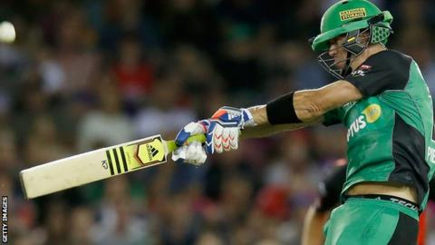 Kevin Pietersen hits out against Perth Scorchers