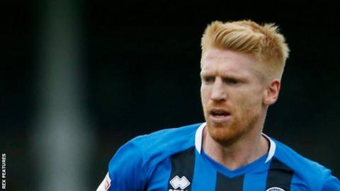 Paul McShane has made nine appearances since joining Rochdale in October