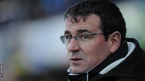 Bradford manager Gary Bowyer