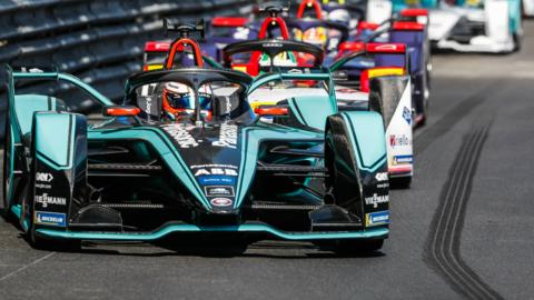 Mitch Evans, of Panasonic Jaguar Racing