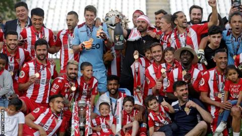Aves won the Portuguese Cup