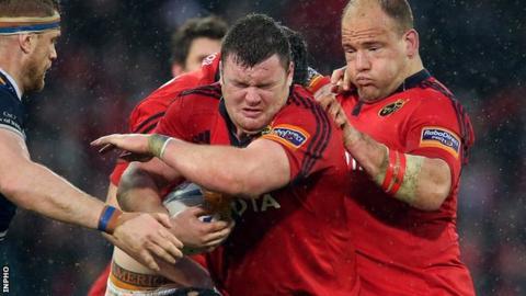 Dave Kilcoyne and BJ Botha return for Munster