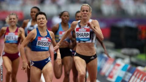 Sharp won the Anniversary Games in London as she returns to form in time for the World Championships