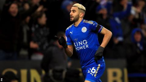 Man City boost: Riyad Mahrez will return to Leicester on one condition