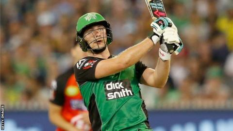 Luke Wright hits out for Melbourne stars