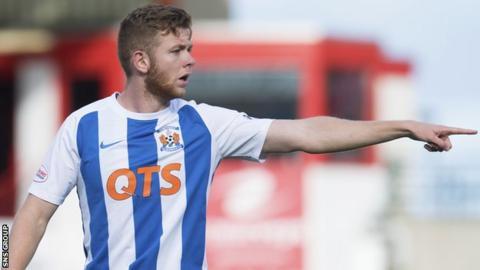 Stuart Findlay is staying at Rugby Park for the rest of the season