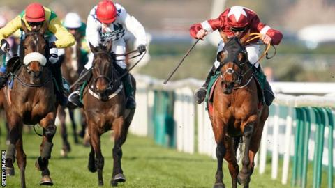 Tiger Roll at the 2019 Grand National