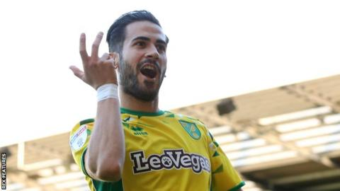 Mario Vrancic of Norwich City