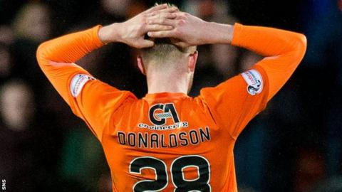 Dundee United defender Coll Donaldson