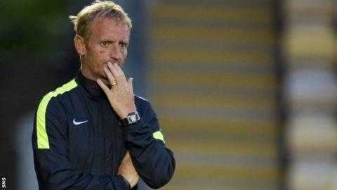 Dundee United interim boss Dave Bowman