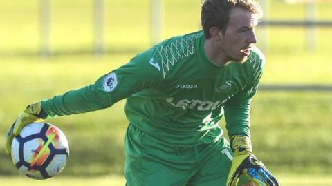 Lewis Thomas is one of three goalkeepers signed by Forest Green this summer