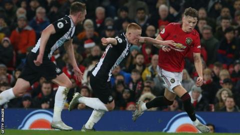 McTominay has been out since Man United's Boxing Day win over Newcastle