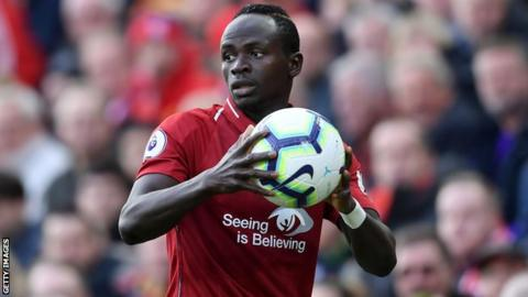 Sadio Mane: Liverpool forward has hand surgery
