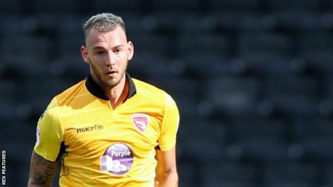 Max Muller has made 15 League Two appearances for Morecambe this season