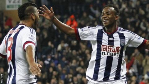 Saido Berahino (right)
