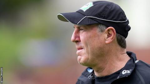 Derbyshire T20 coach John Wright