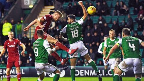 Aberdeen and Hibernian are scheduled to meet on 7 March at Pittodrie
