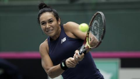 Heather Watson of Great Britain