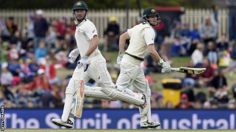Adam Voges and Shaun Marsh