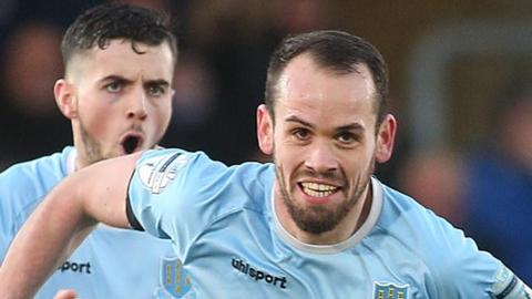Ballymena's Tony Kane has scored 18 goals this season