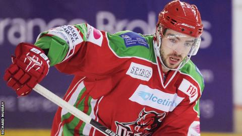 Josh Batch scored three goals and made nine assists for Cardiff Devils last season