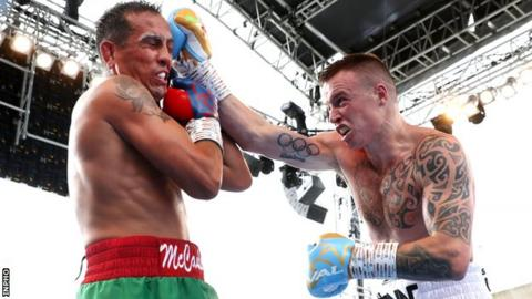 Steven Donnelly: Ballymena man to fight at London Ultimate Boxxer tournament
