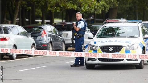 Mosque shooting Christchurch