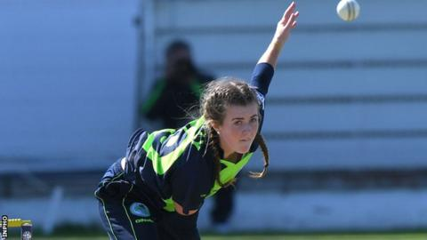 Lucy O'Reilly was Ireland top wicket-taker against Thailand in Colombo on Saturday