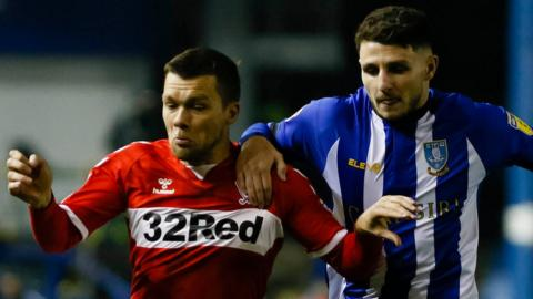 Sheff Wed v Middlesbrough