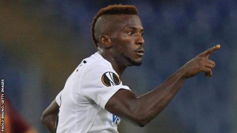 Nigeria international striker Olarenwaju Kayode
