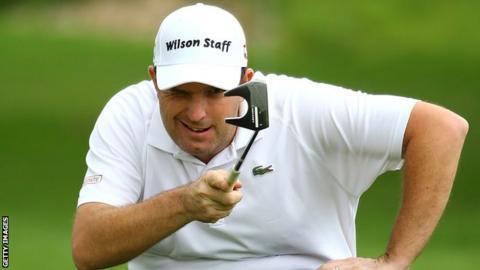 English golfer Anthony Wall
